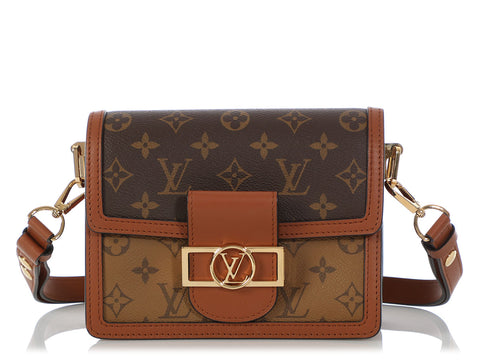Louis Vuitton Mini Monogram Reverse Dauphine Bag