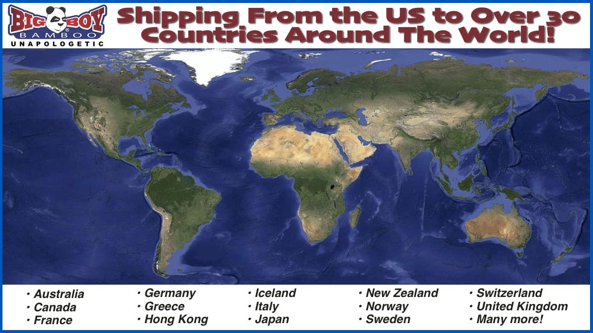 Big Boy Bamboo Global Shipping Options