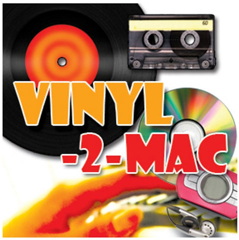 Vinyl-2-Mac Kit. Record from Tape, Vinyl & MiniDisc to Mac. For all recent Macs.