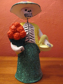 Catrina with Flowers