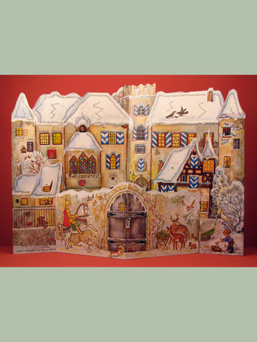 Advent Calendar : 3D Medieval Village