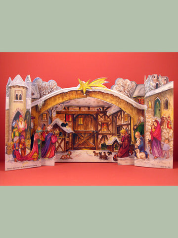 Advent Calendar : 3D Nativity Scene