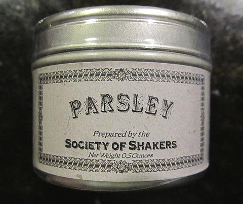 Shaker Culinary Herbs: Parsley