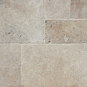 IVORY BEIGE TRAVERTINE - Unfilled And Honed