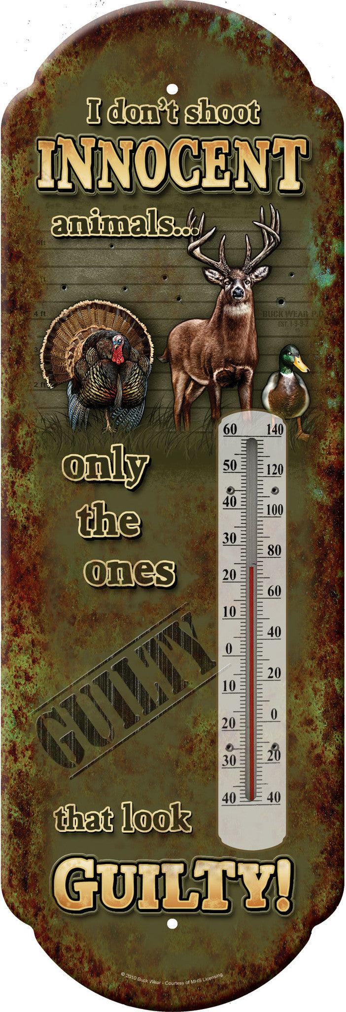 Innocent Animals Thermometer - GrayGoose Products Limited