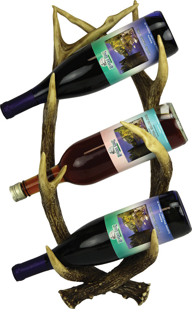 Antler Wall Mount Wine Holder - GrayGoose Products Limited