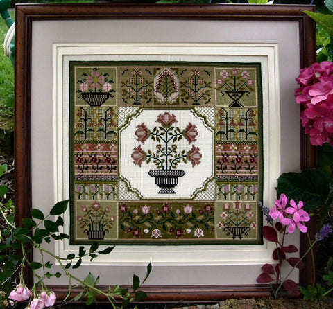 Floral Sampler | Cross Stitch | Sampler Company