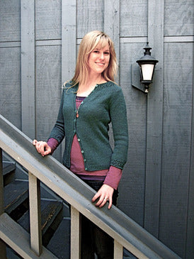 Gemma Cardigan Knitting Pattern | The Yarniad