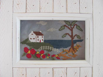 Home By The Sea  | Cross Stitch | By The Bay Needleart