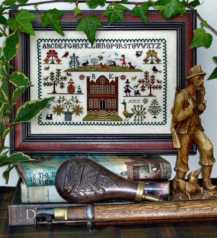 The Huntsman (with Dog) | Cross Stitch | Sampler Company