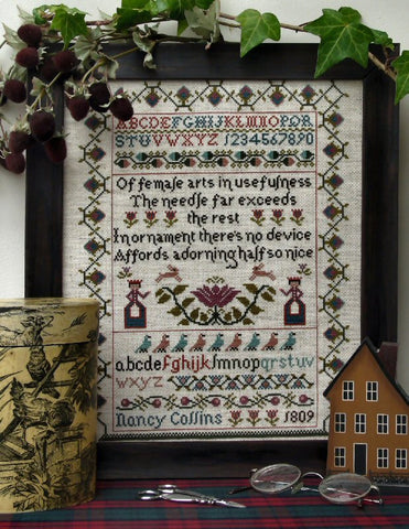 Nancy Collins Sampler | Counted Cross Stitch | Sampler Company