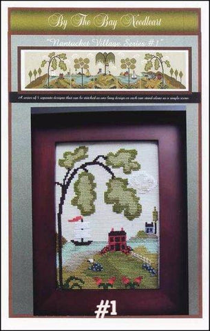 Nantucket Village Series  | Cross Stitch | By The Bay Needleart