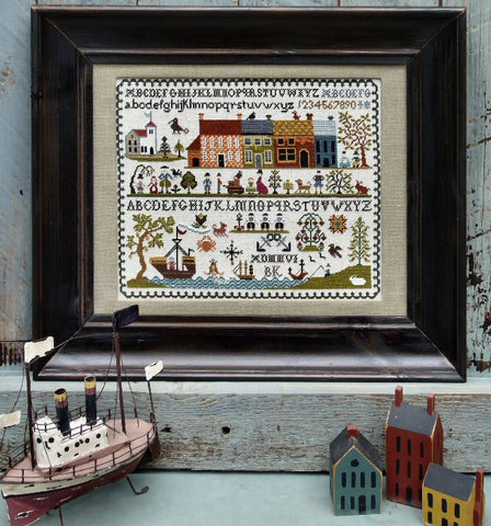 New England Sampler | Cross Stitch | Sampler Company