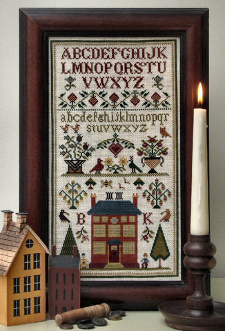 Town House | Cross Stitch | Sampler Company