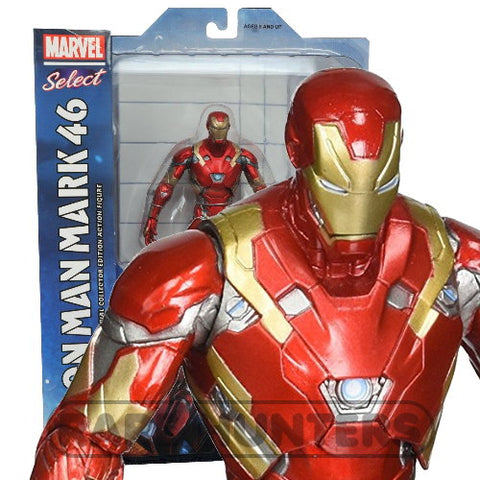 Marvel Select Civil War Mark 46 Iron Man 7-inch Action Figure