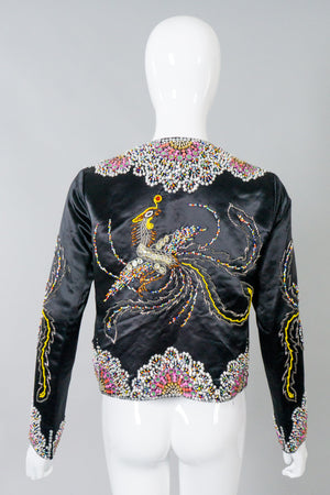 Dynasty Vintage Beaded Phoenix Jacket