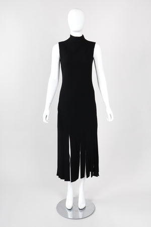 Recess Los Angeles Vintage Pierre Cardin High Neck Sleeveless Carwash Tunic Dress