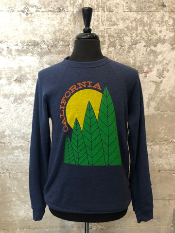CALIFORNIA TREE SUN FLEECE