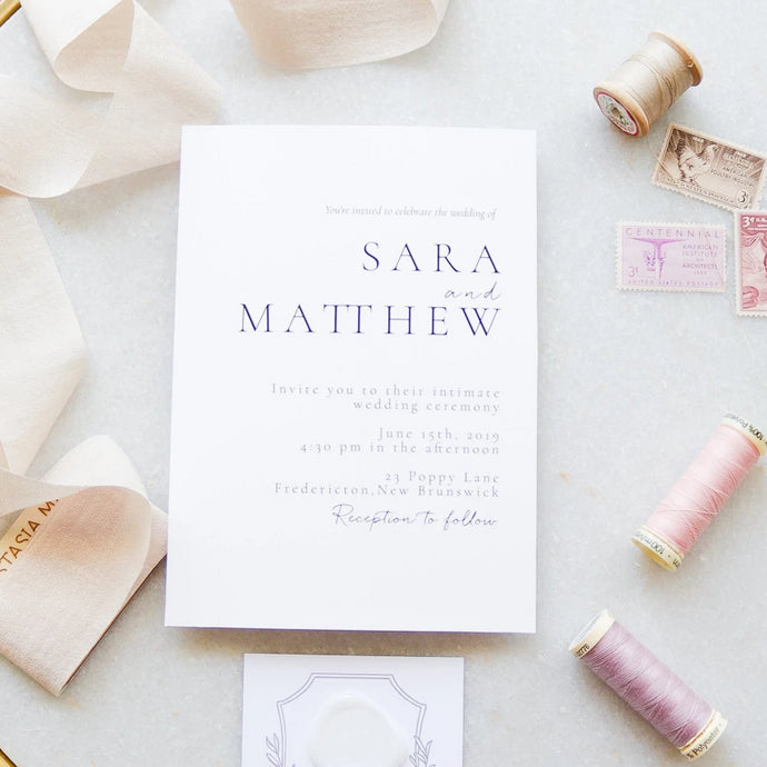 The Sara Collection - Wedding Invitation