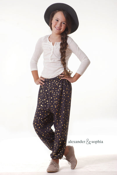 The Nellie Pant (Slate Brown)