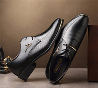 New men Fashion Casual Office or Wedding Leather Shoes