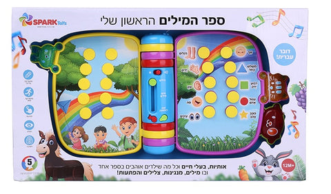 My First Book of Words in Hebrew