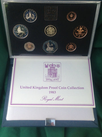 Picture of Elizabeth II 1983 Standard Proof Set