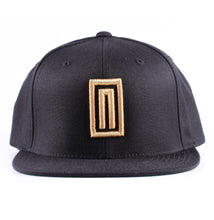 "Vintage Frames Company Notorious ""N"" Black/Gold Snapback Front"