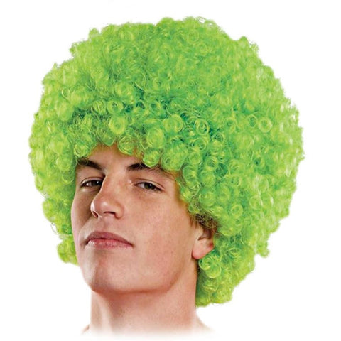 Afro Wig Green