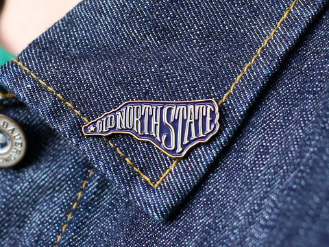 Old North State Enamel Pin