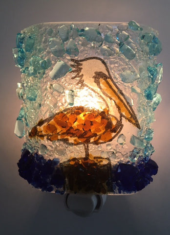 Pelican Reborn Glass Night Light