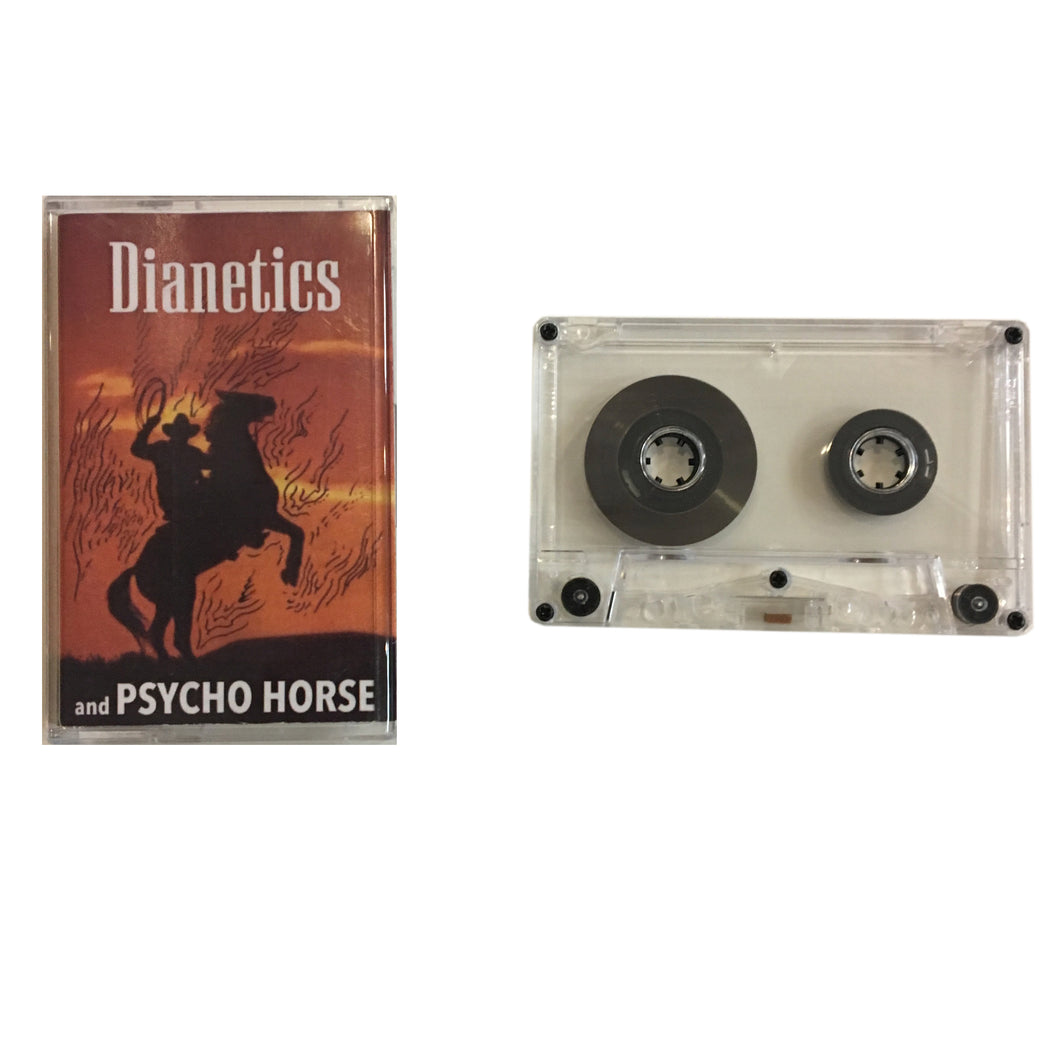 Dianetics: Book Learned / And Psycho Horse cassette
