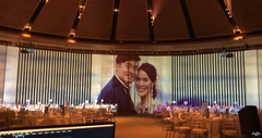 3D Mapping Projection @ Edward and Ting Ping Wedding