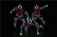 LED Tron Dancers @ Halogen Yellow Diamond Gala Dinner