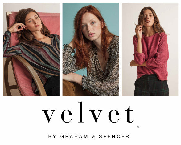 Velvet new arrivals heading