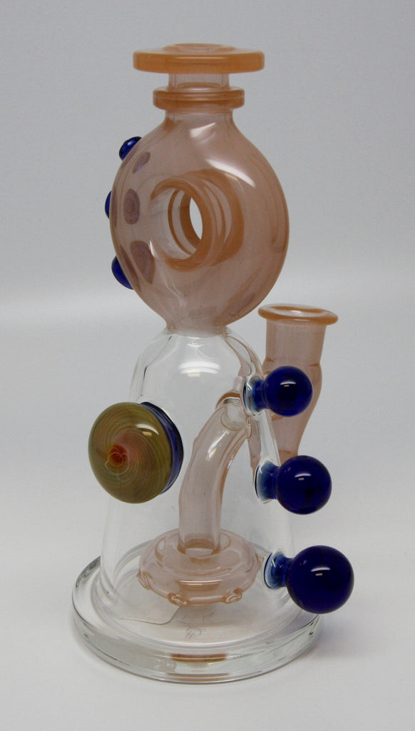 DC Glasswerx Peachy Blue Balls