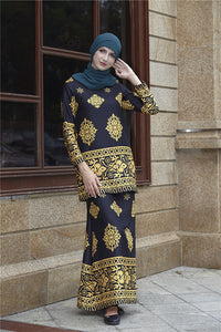 Vintage Muslim Wear Party Dresses