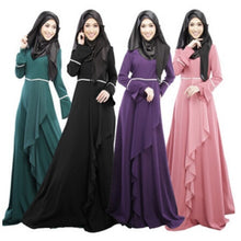 Load image into Gallery viewer, Muslim clothing female long sleeved