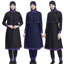 Load image into Gallery viewer, Muslim Women Swimwear Full Cover Burkini