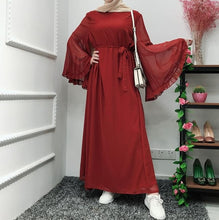 Load image into Gallery viewer, Chifffon Vestidos Kaftan Abaya Arabic Islamic