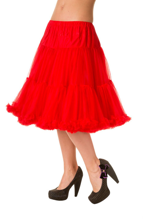 Banned Apparel Starlite Red Petticoat