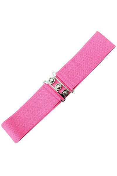 Banned Apparel Retro Belt Hot Pink