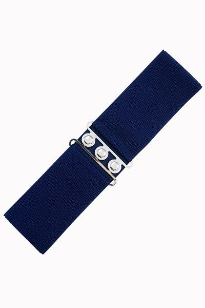 Banned Apparel Retro Belt Navy