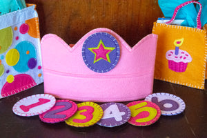 Children's Birthday Crown