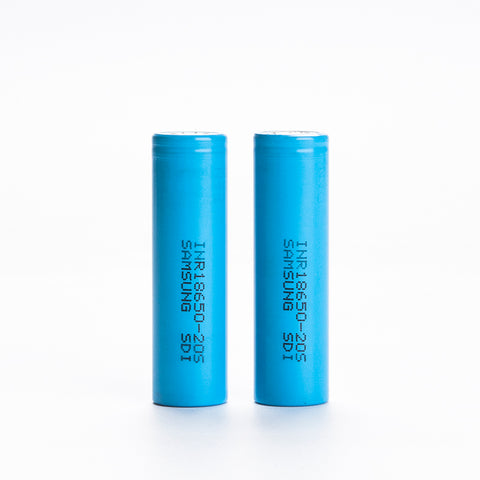 Samsung 20S INR 18650 2000mAh 30A Flat Top Battery