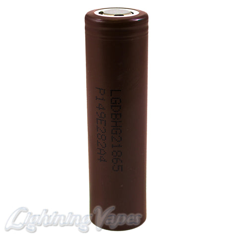LG HG2 18650 20A 3000mAh Flat Top Battery