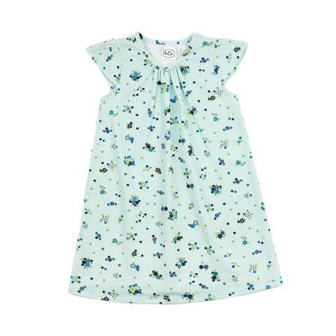 kate every day dress // blue flower