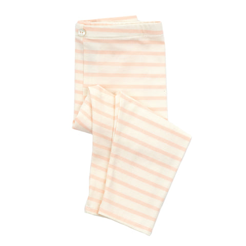 lulu full length legging // pink stripe