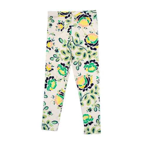 LULU legging // light floral