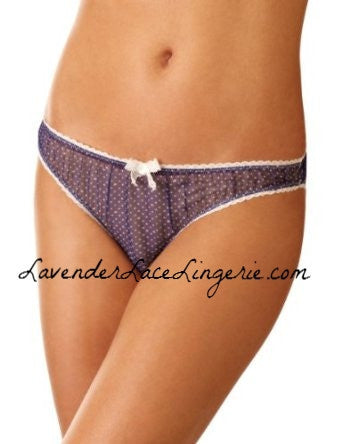 Mimi Holliday Bow THONG/LavenderLaceLingerie.com